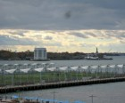 Get great pics of New York Harbor attractions like Govenors Island and the<br /> Statue of Liberty