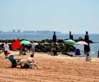 Cedar Grove Beach is a main attraction at Great Kills Park