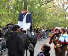 The Headless Horseman presides over Prospect Park's annual Halloween Haunted Walk & Halloween Carnival