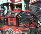 Spooky train ride and hayride