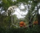 Scary sculptures abound at the New York Botanical Garden's Haunted Pumpkin Garden