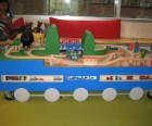 The awesome train table