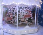 A mini-merry-go-round at Lord & Taylor