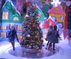 A Christmas scene at Lord & Taylor