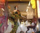 A playful look at the Radio City Rockettes at Henri Bendel