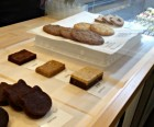 Choose from adorable cat-shaped brownies and sweets...