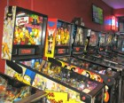 Try more than 30 different pinball machines--The Simpsons one is super popular with kids