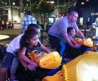 Fun at the arcade