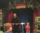 The professional magician delights party guests of all ages...