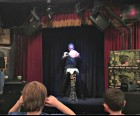 With magic tricks, sleight of hand and illusions