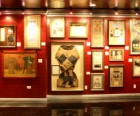One of the gallery walls at the Houdini Museum of New York