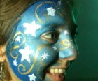 Juliet Jeske face painting