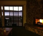 An evening snuggled by the fire...