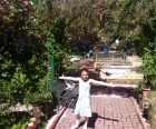Maggie's Magic Garden on Lexington Avenue hosts family festivals<br/>throughout the year