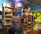 There are lots of kid-centric businesses on Atlantic Avenue including Mini Max<br /> Cuts & Toys...