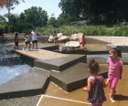 My kids loved cooling down here