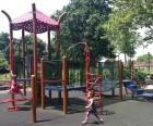 Toddler area at the 175th Street Playground