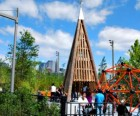 Brooklyn Bridge Park's state-of-the-art Pier 6 Playground is considered<br /> one of the best romping spots in all of NYC