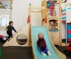 All of the attractions at PLAY, like this cute play set, are best for the<br /> under 6 set; photo by PLAY