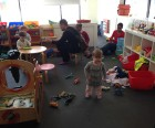 Dress up and engage in imaginative play