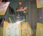 Pop-up storybooks at Saks Fifth Avenue