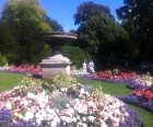 Beautiful gardens at the Royal Victoria Park