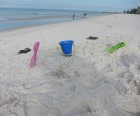 The soft sand is perfect for your sand pail