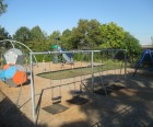 The Lowers play area in the members-only Sunnyside Gardens Park