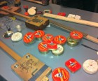 All of the raw materials we had to work with to make our own instruments