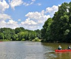 Willowbrook Park boasts a beautiful five-acre lake where you can canoe,<br /> fish and look for birds