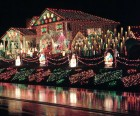 Faucher Family Holiday Light Display