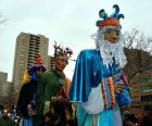 El Museo del Barrio's annual Three Kings Parade every January is a<br/>huge community celebration