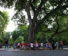 Tompkins Square Park is great for people watching