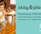 Free Playgroup for Infants and Toddlers in Boston