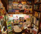 Inside the children's nook at Ye Old Warwick Book Shoppe