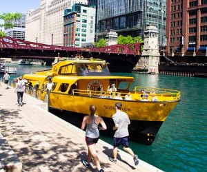 25 Things To Do with Chicago Preschoolers Before They Turn 5: Ride a water taxi