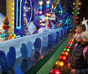 Holiday windows are a seasonal fun freebie in NYC