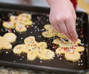 Fun Activities for Grandparents To Do with Kids: Bake cookies
