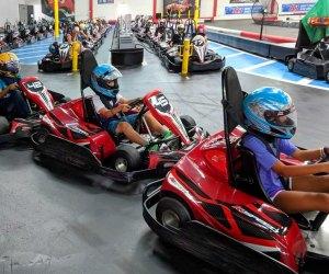 Indoor Kids' Birthday Party Places in Los Angeles: Go Kart Racing