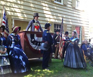 Celebrate Independence Day like its  1864  at Old Bethpage Village Restoration.  Photo courtesy of Old Bethpage Village Restoration