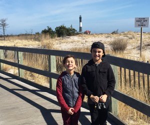 Join in the Winter Search Party at Fire Island Lighthouse. Photo by Jaime Sumersille