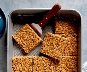 25 Healthy Breakfast Ideas for Kids: Peanut Butter Bars