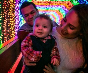 The Trail of Lights at Santa's Wonderland is sure to become a Christmas favorite for the family./Photo courtesy of Santa's Wonderland.