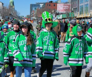 Show off your colors at South Boston's St. Patrick's Day Parade. Photo courtesy of Allied War Veterans of South Boston