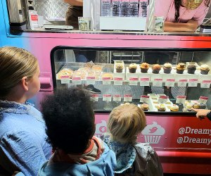 Nights of the Jack Is Now Open: The foodtruck cupcakes are a huge hit!