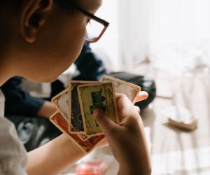 Fun Activities for Grandparents To Do with Kids: Play cards