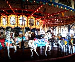Indoor Kids' Birthday Party Places in Los Angeles: Santa Monica Pier Carousel