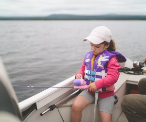 Fun Activities for Grandparents To Do with Kids:  Go fishing