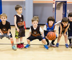 Fastbreak Sports offers multi-sport, sport-specific, and private programs for kids one and up. Photo courtesy of Fastbreak Sports.