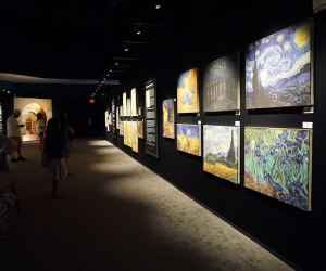 Van Gogh: The Immersive Experience has a gallery-like feel